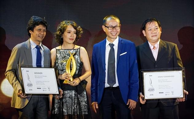 Kiến Á giành 7 giải tại Vietnam Property Awards 2018