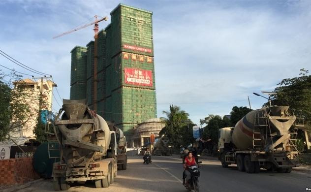 Người Trung Quốc đổ xô đầu cơ bất động sản tại Phnom Penh