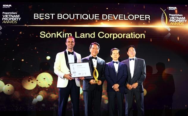 SonKim Land được vinh danh tại Giải thưởng bất động sản Việt Nam 2018