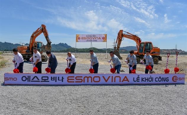 ESMO khởi công nhà máy sản xuất dây cáp điện ô tô đầu tiên tại Việt Nam