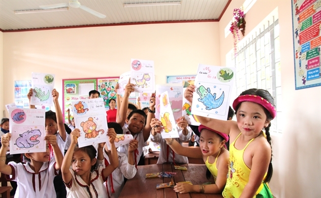 Quỹ Cargill Cares đã xây được 87 trường học tại Việt Nam