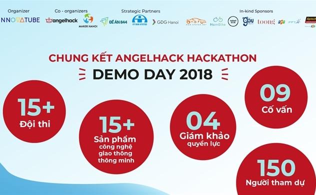 Chung kết cuộc thi AngelHack Hackathon 2018 - Demo Day