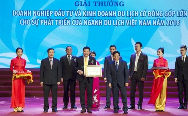 Sun Group giành nhiều giải thưởng tại Giải thưởng Du lịch Việt Nam