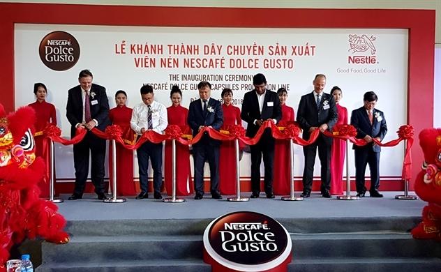 Nestlé sản xuất viên nén cà phê ở Việt Nam