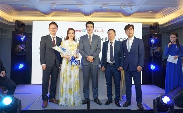 Shimex Sài Gòn mời đại sứ thương hiệu e.p.t.q. diễn viên Kwon Sang Woo đến Việt Nam