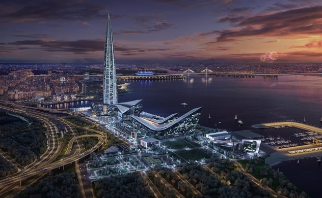 Khám phá tòa nhà chọc trời cao nhất châu Âu