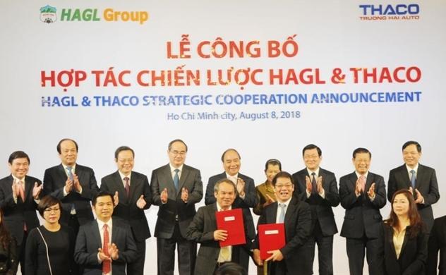 Thaco sẽ đầu tư tiếp cho HAGL 12.000 tỷ đồng