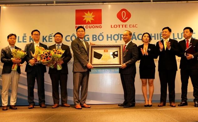 Phú Cường hợp tác Lotte phát triển bất động sản