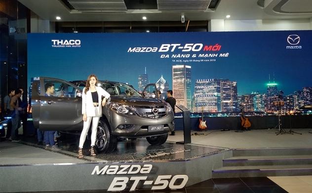 Thaco ra mắt Mazda BT-50 mới, giá từ 655 triệu đồng