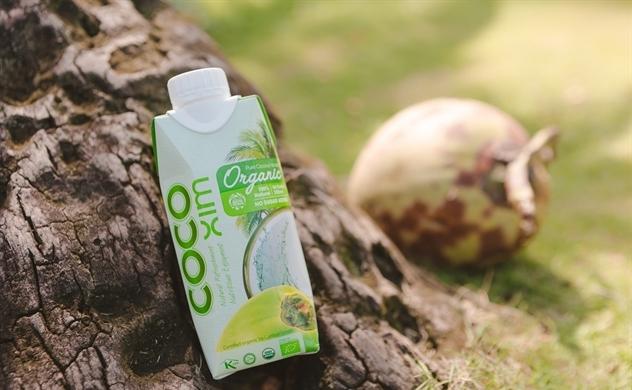 Nước dừa Cocoxim organic đạt chuẩn quốc tế
