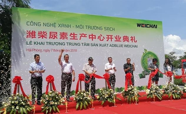 Khai trương Trung tâm Sản xuất Weichai AdBlue