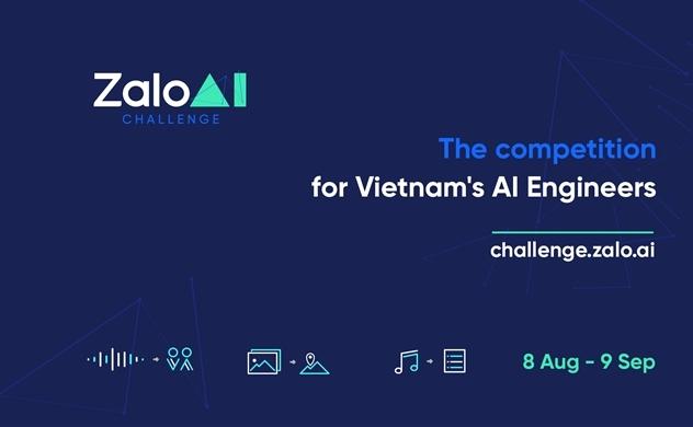 Zalo tổ chức cuộc thi Zalo AI Challenge