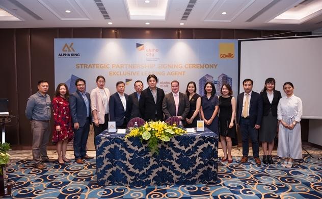 Alpha King và Savills VietNam ký thỏa thuận hợp tác chiến lược