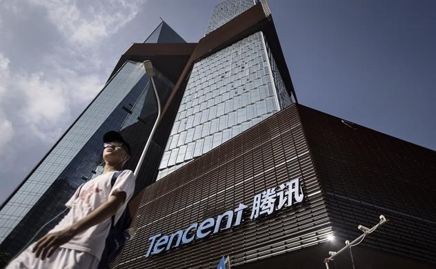 Gã khổng lồ Tencent gặp hạn