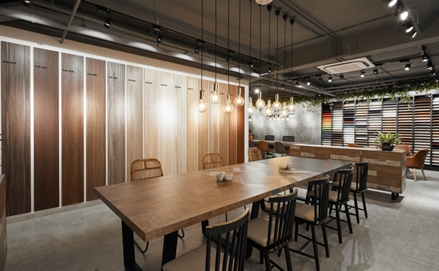 An Cường khai  trương  showroom vật  liệu, giải  pháp và nội thất làm từ gỗ công nghiệp lớn nhất Đông Nam Á