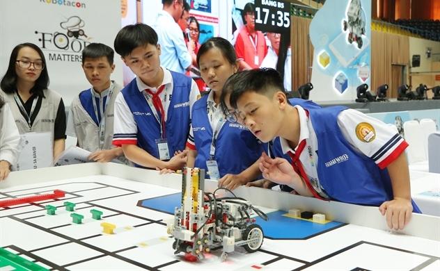 Cuộc thi tài năng Robotacon WRO 2018