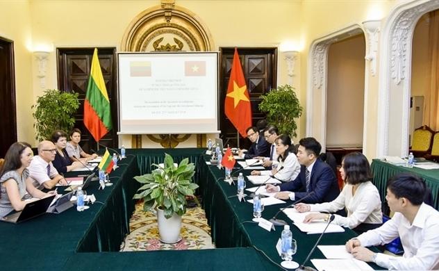 Việt Nam- Lithuania: Đàm phán Hiệp định nhận trở lại công dân