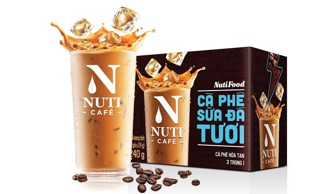 Ra mắt Nuticafé - Cà phê sữa đá tươi