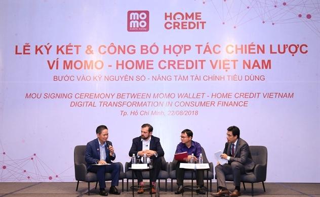 MoMo mở thêm cửa cho Home Credit