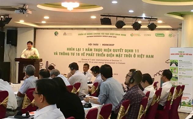 Mở đường cho năng lượng tái tạo đến từng gia đình Việt