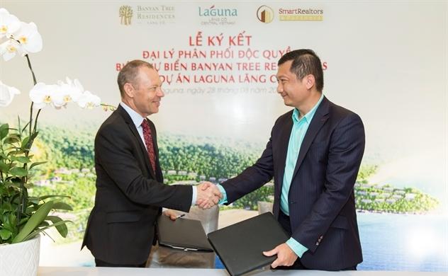 SmartRealtors phân phối độc quyền biệt thự biển Banyan Tree Residences