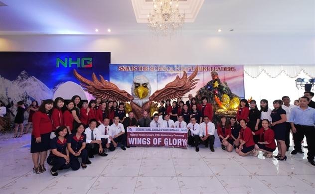 Tập đoàn giáo dục Nguyễn Hoàng với quy mô đào tạo khép kín