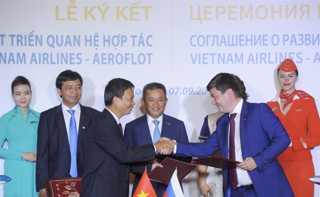 Vietnam Airlines mở rộng các đường bay đi Nga