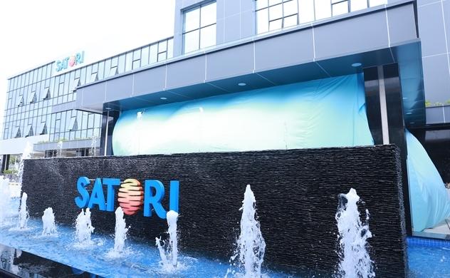 Khánh thành nhà máy sản xuất nước Satori