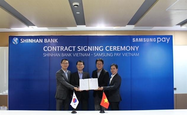 Ngân hàng Shinhan hợp tác cùng Samsung ra mắt thẻ Samsung Pay