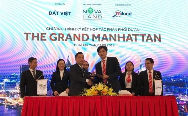 Mland, Tatiland, Mgland trở thành đại lý phân phối dự án The Grand Manhattan