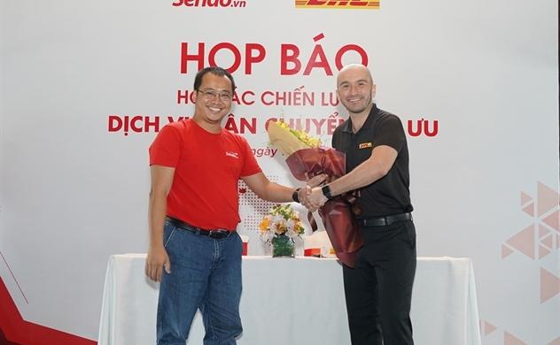 Sen Đỏ và DHL hợp tác chiến lược dịch vụ vận chuyển tối ưu