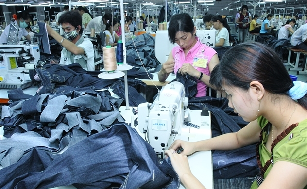 Hàng dệt may Việt Nam đang chiếm lĩnh thị trường Hàn Quốc