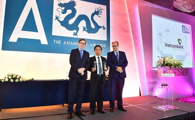Asiamoney vinh danh Vietcombank