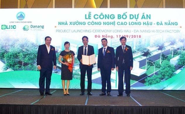 Long Hậu đầu tư dự án Nhà xưởng tại Khu công nghệ cao Đà Nẵng