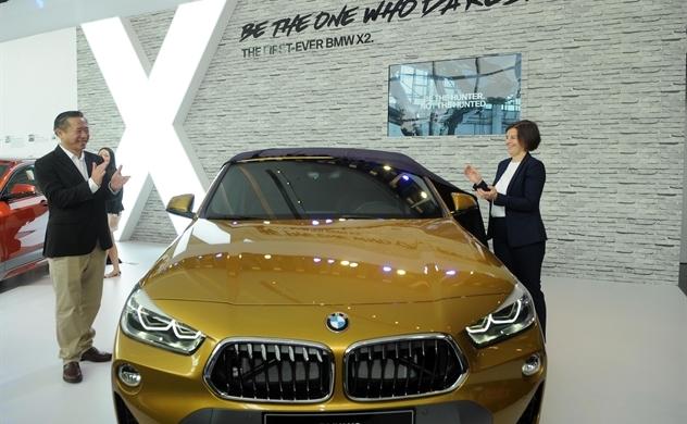 Mẫu xe gia đình BMW X2