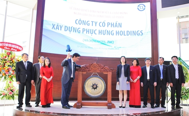 Phục Hưng Holdings chính thức lên sàn HOSE