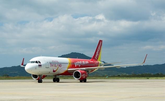 Vietjet chào mừng chuyến bay đầu tiên Đà Nẵng – Bangkok