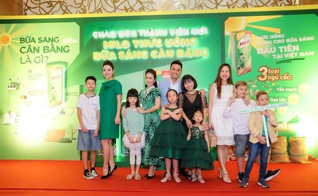 Nestlé Milo ra mắt Milo thức uống bữa sáng cân bằng
