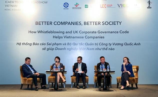 Giới thiệu Bộ quy tắc Quản trị Anh cho doanh nghiệp Việt Nam