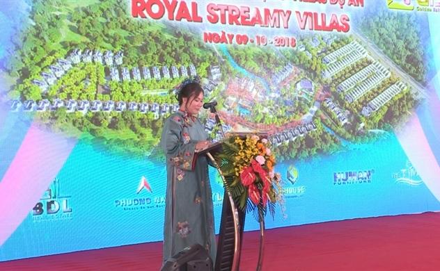Khởi công Dự án nhà phố và biệt thự cao cấp Royal Streamy Villas