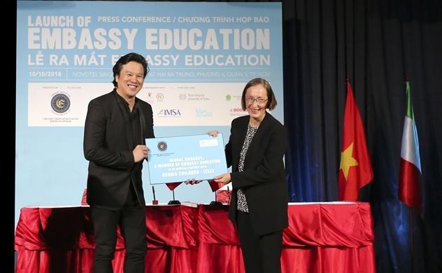 Embassy Education chính thức hoạt động tại Việt Nam