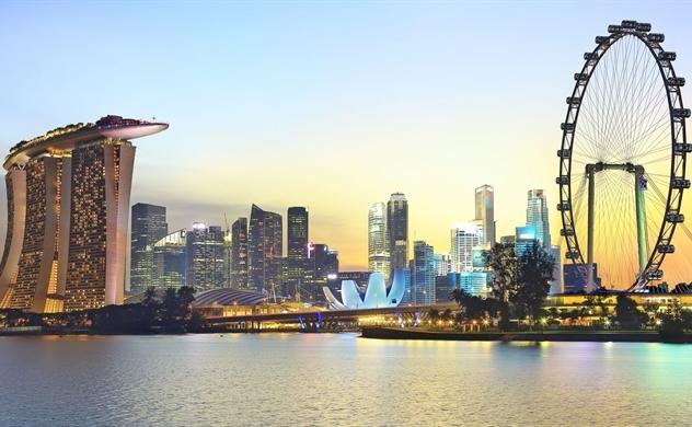 Ngắm toàn cảnh Singapore qua bản đồ 3D