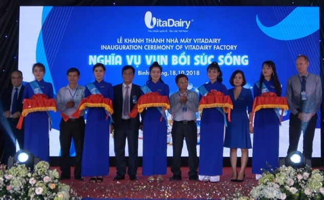 VitaDairy khánh thành nhà máy thứ hai tại Bình Dương