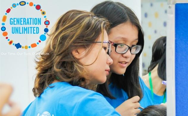 UNICEF phát động cuộc thi Thách thức Thanh niên Việt Nam