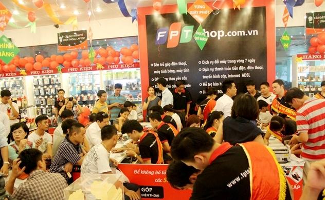 Doanh thu một cửa hàng FPT Retail hơn 2,3 tỉ đồng/tháng