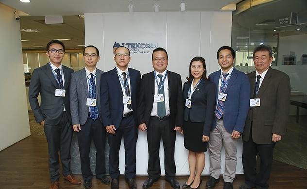 Công ty cổ phần TEKCOM đón nhận lãnh đạo và ra mắt bộ nhận diện thương hiệu mới
