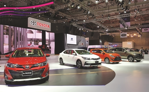 Motor show: Vớt doanh số cuối năm