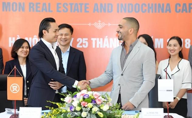 HD Mon hợp tác Indochina Capital trong dự án Mon City