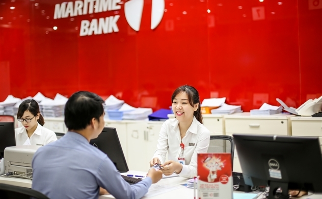 Maritime Bank lãi trước thuế 289 tỷ sau 9 tháng