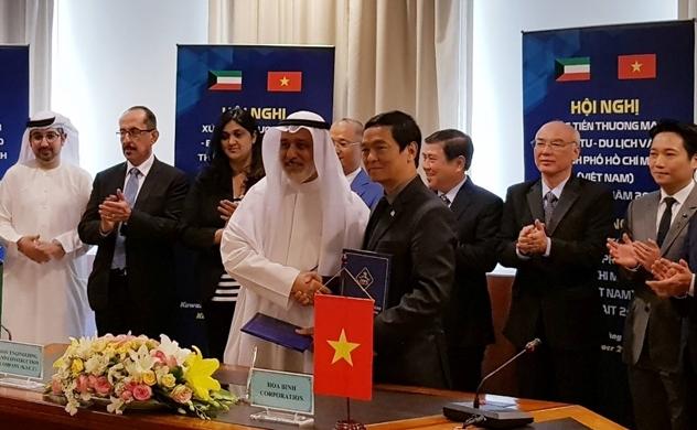 Hòa Bình ký thỏa thuận liên doanh đấu thầu ở Kuwait